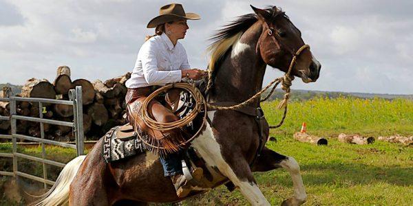 Une jeune jument de la Saltusienne remporte le Challenge annuel VERSATILE RANCH HORSE- Novice Horse
